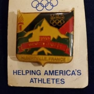 Vintage Winter Olympic Pin